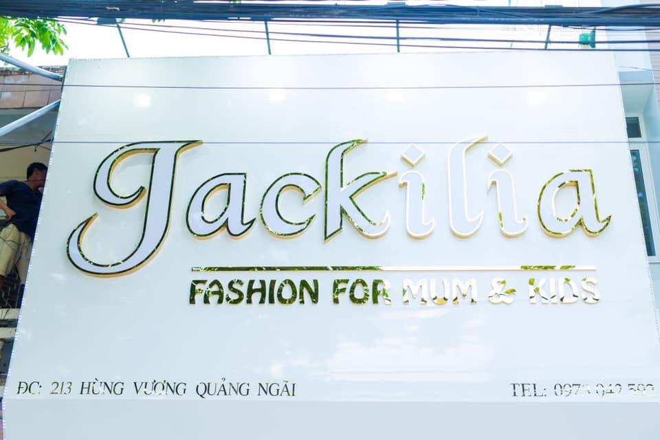 Thiết kế thi công bảng hiệu Jackilia Quảng Ngãi